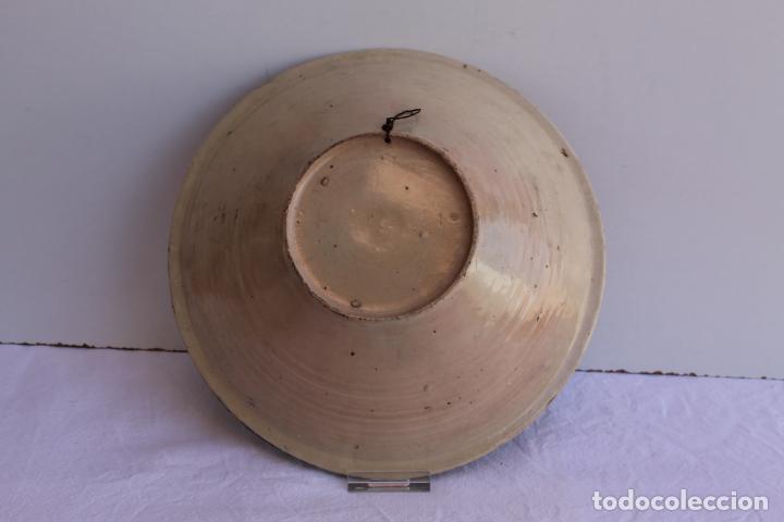 Antigüedades: PAREJA DE PLATOS DE CERAMICA DEL PUENTE DEL ARZOBISPO - Foto 5 - 267543449