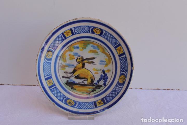 Antigüedades: CUATRO PEQUEÑOS PLATOS DE CERAMICA DE TRIANA - Foto 5 - 267543674