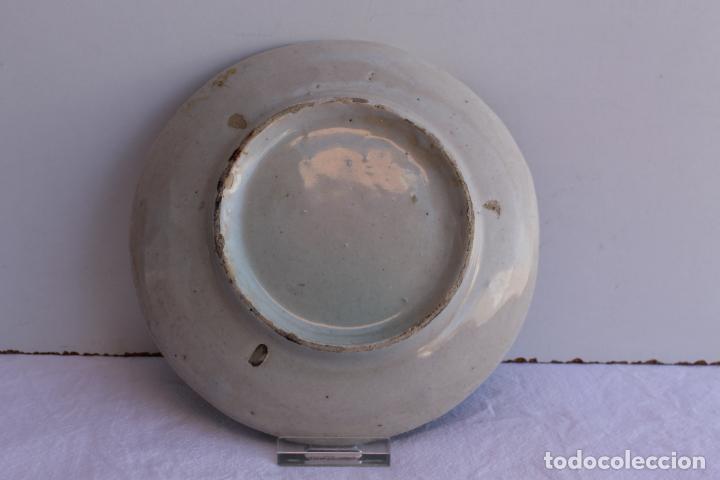 Antigüedades: CUATRO PEQUEÑOS PLATOS DE CERAMICA DE TRIANA - Foto 6 - 267543674