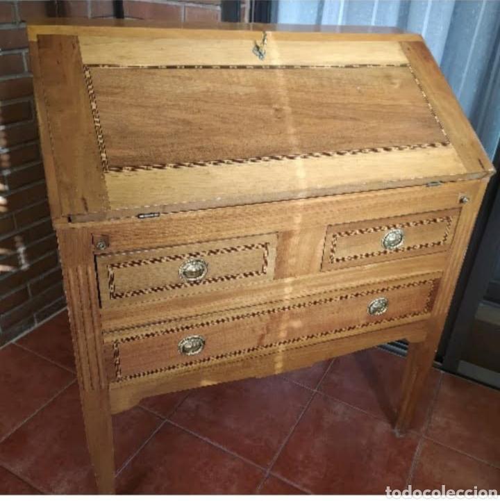 BUREAU CARLOS IV (Antigüedades - Muebles Antiguos - Escritorios Antiguos)
