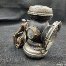 Antiquités: ANTIGUO FAROL DE BICICLETA A PETRÓLEO. Lote 267680054