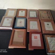 Antigüedades: LOTE 11 PORTAFOTOS. Lote 267781674