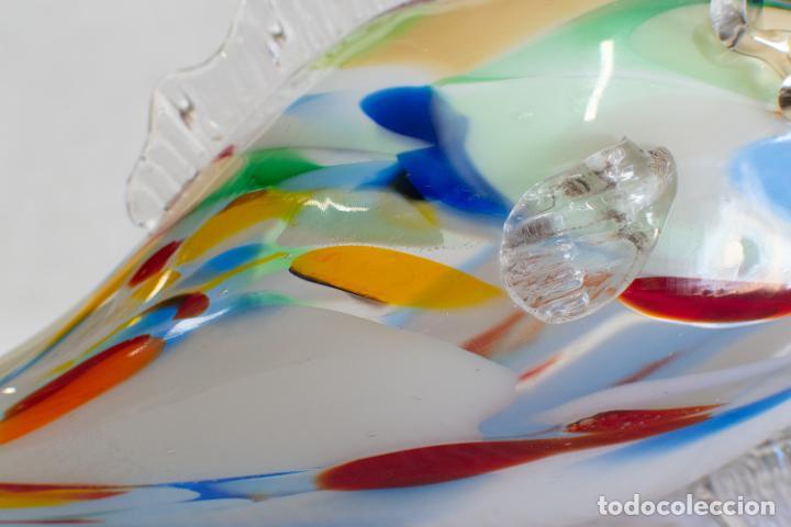 Antigüedades: Precioso pez cristal soplado Murano vintage. - Foto 9 - 267791534