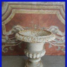Antigüedades: COPA DE HIERRO EN TONO BLANCO. Lote 267859989