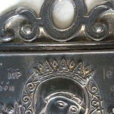 Antigüedades: BENDITERA ANTIGUA EN ESTAÑO - PARA ARREGLAR. Lote 267869099