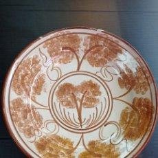 Antigüedades: RIBESALBES ANTIGUO PLATO PERFECTO ESTADO 29 CM DE DIÁMETRO. Lote 267881599