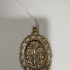 Antigüedades: RELICARIO DE PLATA SIGLO XVLLL. Lote 267888114