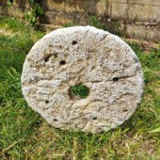 Antigüedades: MUY ANTIGUA PIEDRA DE MOLER, VER DESCRIPCIÓN.. Lote 268044944