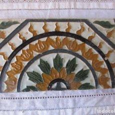 Antigüedades: AZULEJO MUY ANTIGUO (TRIANA). Lote 268127459