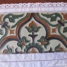 Antigüedades: AZULEJO MUY ANTIGUO (TRIANA). Lote 268127714