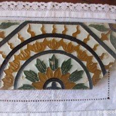 Antigüedades: AZULEJO MUY ANTIGUO (TRIANA). Lote 268128594