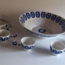 Antiquités: JUEGO PARA QUEIMADA DE SARGADELOS.. Lote 268129114