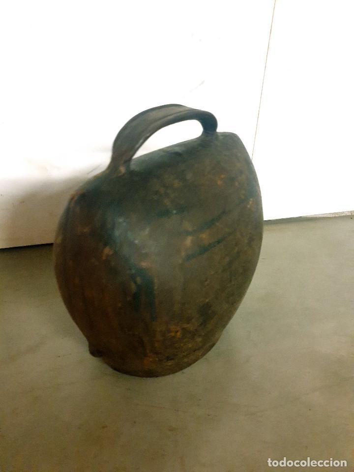 Antigüedades: ANTIGUO CENCERRO DE GANADERÍA GRAN TAMAÑO - Foto 4 - 200593438