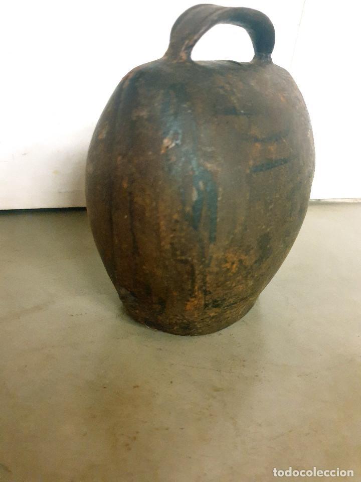 Antigüedades: ANTIGUO CENCERRO DE GANADERÍA GRAN TAMAÑO - Foto 2 - 200593438