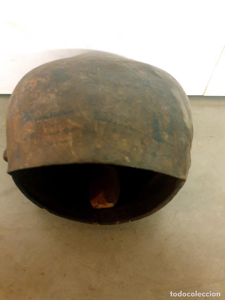 Antigüedades: ANTIGUO CENCERRO DE GANADERÍA GRAN TAMAÑO - Foto 11 - 200593438