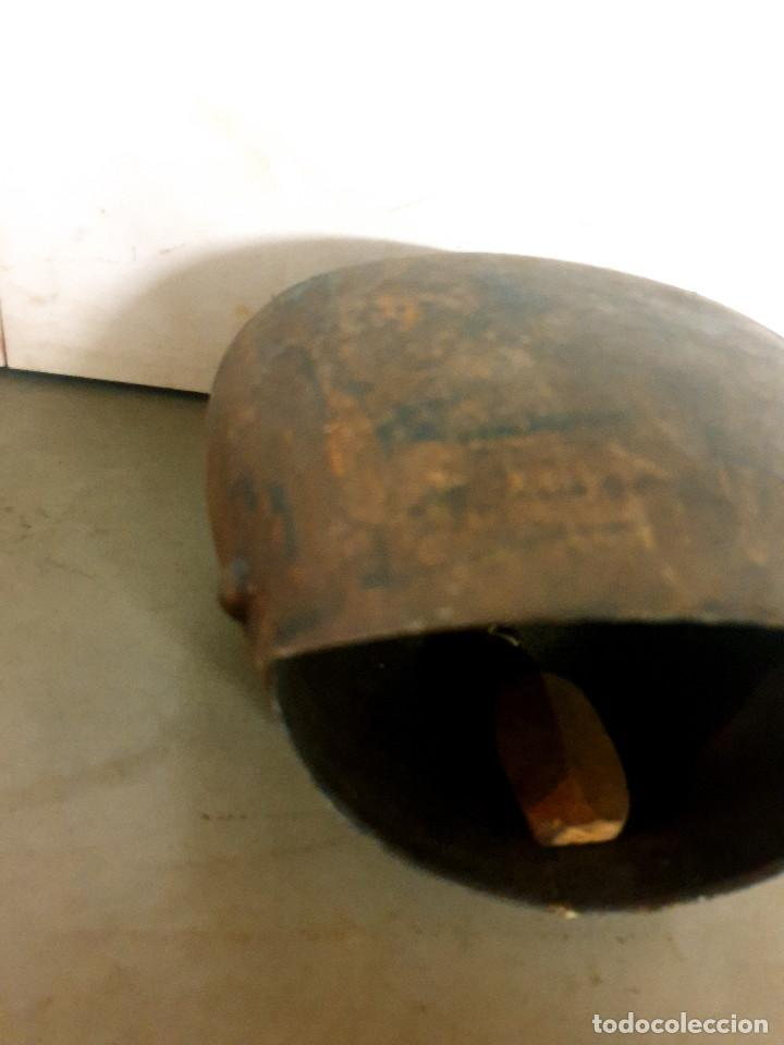 Antigüedades: ANTIGUO CENCERRO DE GANADERÍA GRAN TAMAÑO - Foto 12 - 200593438
