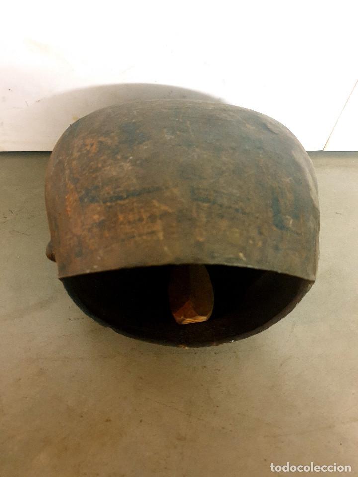 Antigüedades: ANTIGUO CENCERRO DE GANADERÍA GRAN TAMAÑO - Foto 13 - 200593438