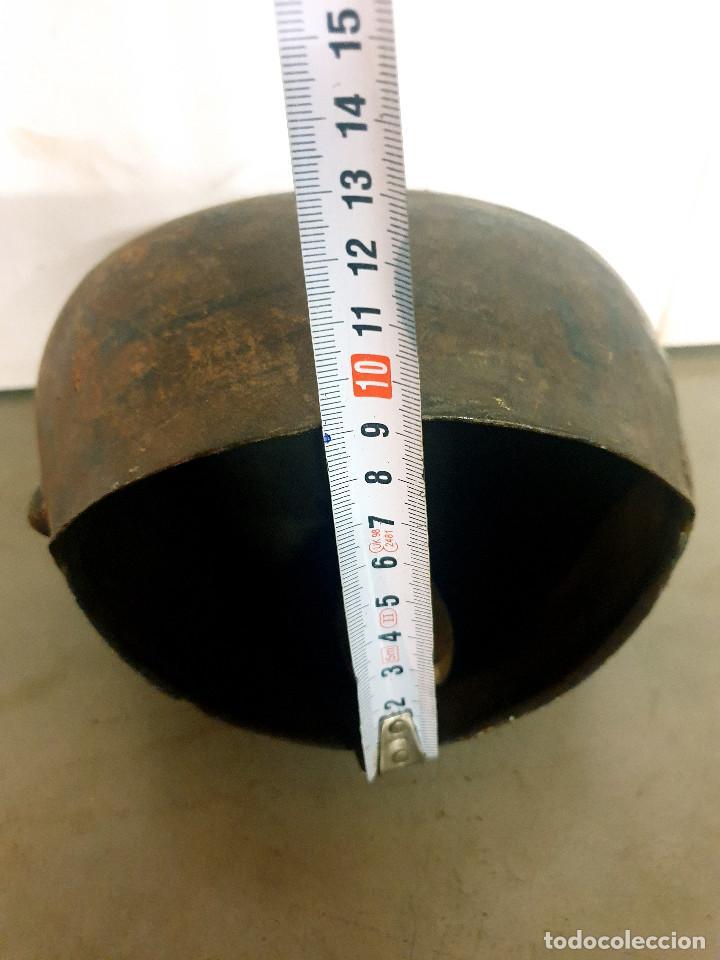 Antigüedades: ANTIGUO CENCERRO DE GANADERÍA GRAN TAMAÑO - Foto 10 - 200593438
