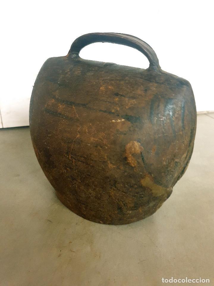 Antigüedades: ANTIGUO CENCERRO DE GANADERÍA GRAN TAMAÑO - Foto 15 - 200593438