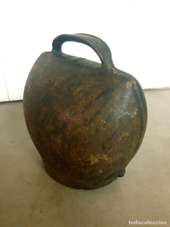 Antigüedades: ANTIGUO CENCERRO DE GANADERÍA GRAN TAMAÑO - Foto 16 - 200593438