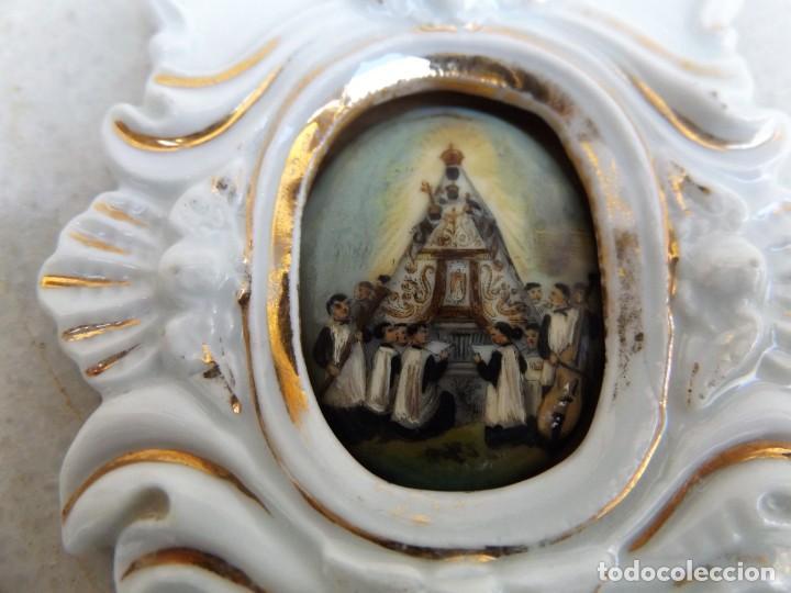 Antigüedades: agua benditera - Foto 3 - 268180964
