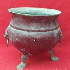 Antigüedades: GRAN MACETERO SIGLO XIX. Lote 268278394