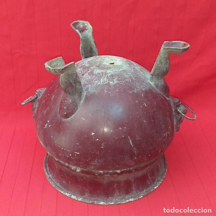 Antigüedades: GRAN MACETERO SIGLO XIX - Foto 11 - 268278394