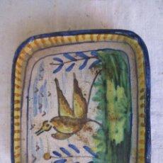 Antigüedades: BANDEJA CERAMICA DE TRIANA. Lote 268285159