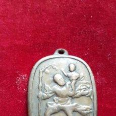 Antigüedades: ANTIGUA MEDALLA SAN CRISTOBAL PATRON DE LOS CONDUCTORES BARREIROS MOSA. Lote 268287919
