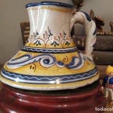Antigüedades: JARRA CERÁMICA TALAVERA ÚNICA SELLO CONDE. Lote 268291584