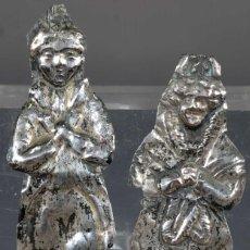 Antigüedades: EXBOTOS EN PLATA SIGLO XIX. Lote 268451449