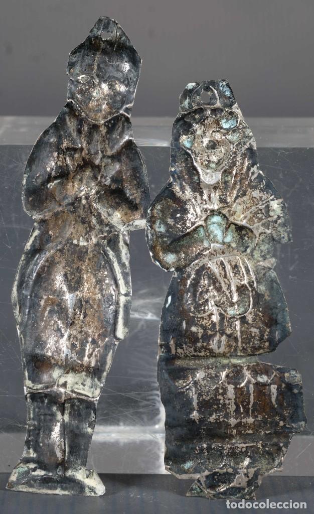 Antigüedades: Exbotos en plata siglo XIX - Foto 2 - 268451449