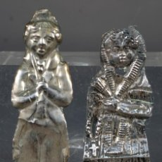 Antigüedades: EXBOTOS EN PLATA SIGLO XIX. Lote 268453009