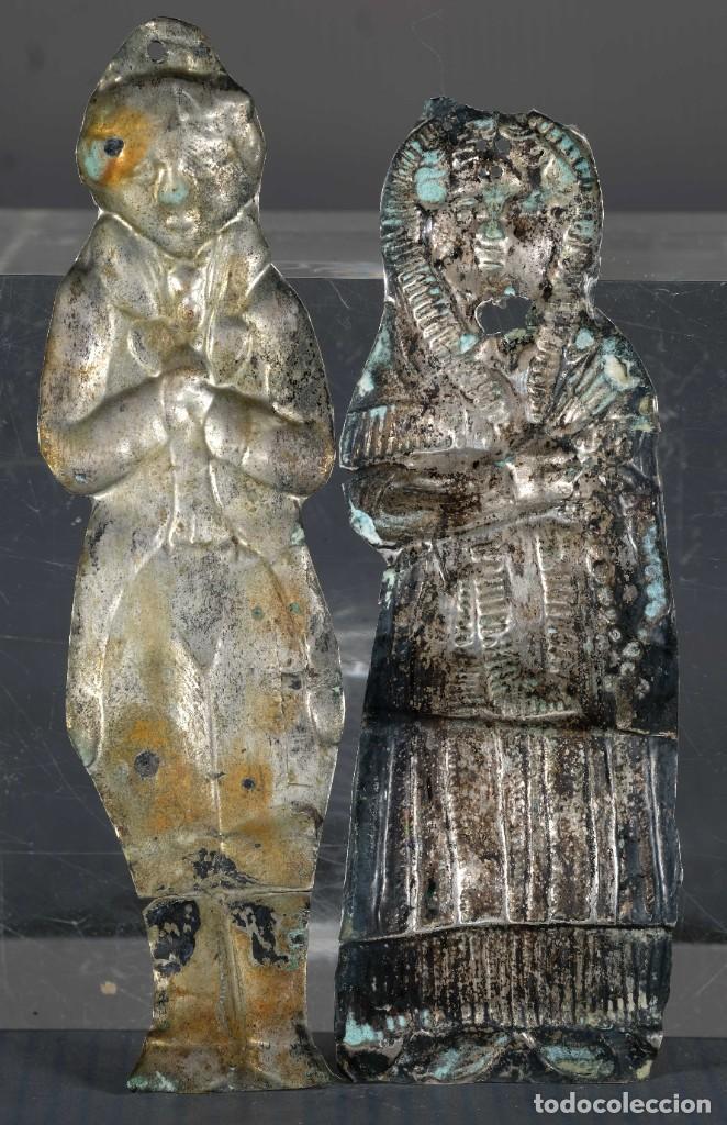 Antigüedades: Exbotos en plata siglo XIX - Foto 2 - 268453009