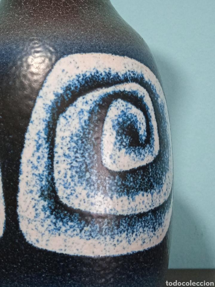 Antigüedades: Gran jarron de cerámica Serra con base de plata - Foto 7 - 268471379