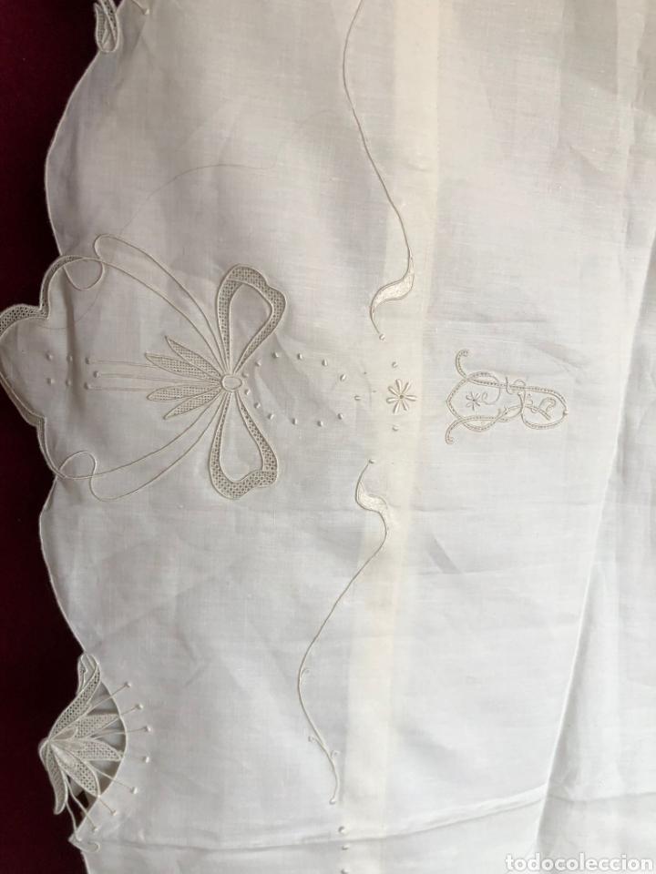 Antigüedades: ANTIGUO JUEGO DE CAMA 150. CIRCA 1890. HILO FINO. FUNDA DE ALMOHADÓN. DOS FUNDAS DE ALMOHADA. 2X70 - Foto 7 - 268606619