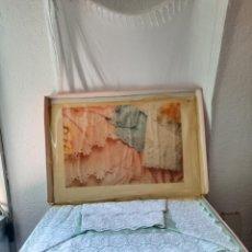Antigüedades: JUEGO DE SABANAS CONDESA DE VIRIDIANA.. Lote 268737964