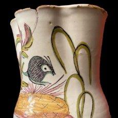 Antigüedades: ANTIQUÍSIMA JARRA DE RIBESALBES, UNICA, DE COLECCIÓN,24 CM. Lote 268781034