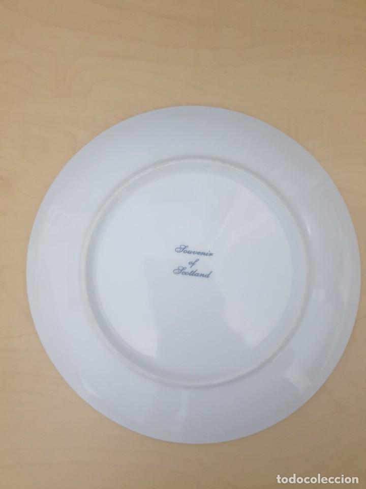 Antigüedades: Plato de porcelana Souvenir of Scotland, Dundee - Foto 2 - 268803699