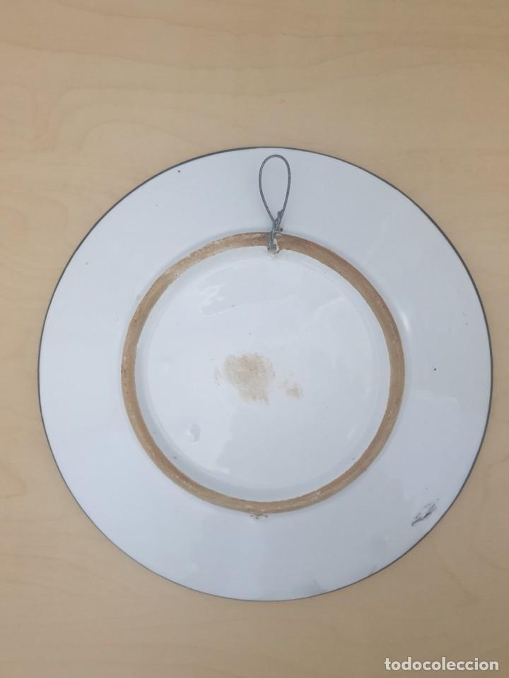 Antigüedades: Plato de Cerámica del Peñon de Ifach ,Calpe - Foto 2 - 268804244