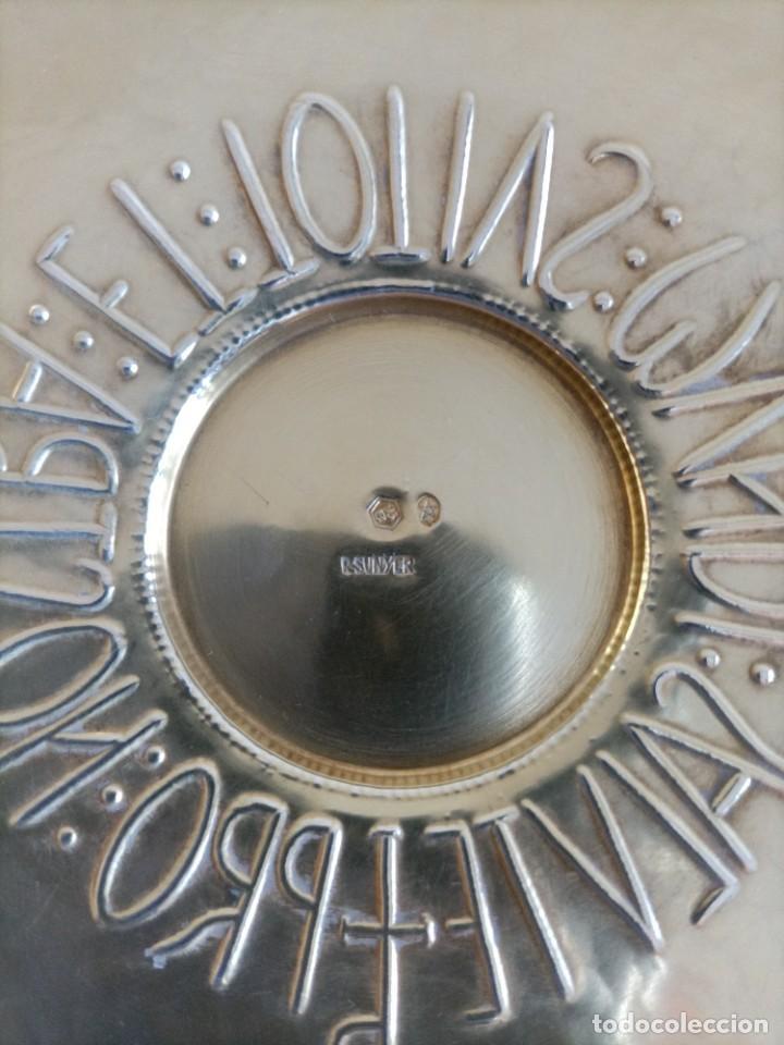 Antigüedades: Caliz en plata de ley , punzones Ramon Sunyer , Alt. 17 cms. - Foto 4 - 268821464