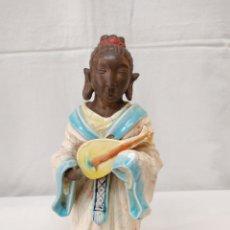 Antigüedades: DIOSA DE LA BELLEZA PORCELANA ALGORA. Lote 268831074