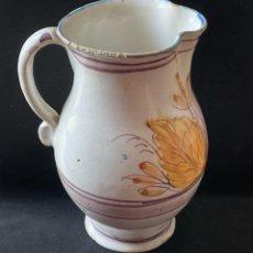 Antigüedades: JARRA ANTIGUA DE LOZA DE RIBESALBES. Lote 268866829