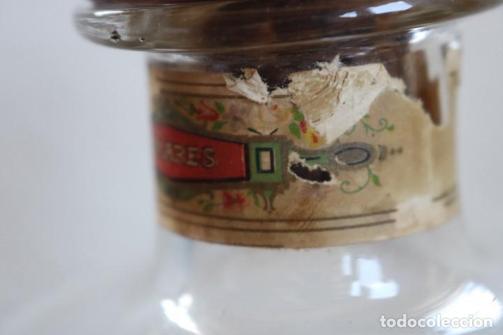 Antigüedades: FRASCO DE COLONIA PERFUME - AGUA COLONIA GRISELDA - DISPENSADOR DE CRISTAL CON GRIFO ORIGINAL - Foto 6 - 268876219
