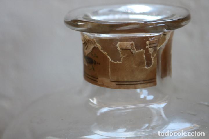 Antigüedades: FRASCO DE COLONIA PERFUME - AGUA COLONIA GRISELDA - DISPENSADOR DE CRISTAL CON GRIFO ORIGINAL - Foto 9 - 268876219