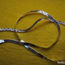 Antigüedades: CADENA DE PLATA .. Lote 268889579