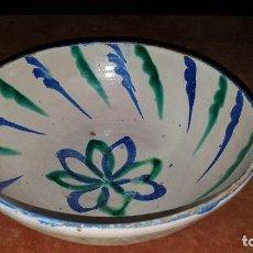 Antigüedades: CUENCO DE CERÁMICA DE FAJALAUZA. Lote 268889759