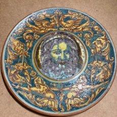 Antigüedades: PLATO DE CERÁMICA DE TALAVERA DE NIVEIRO. Lote 268904319