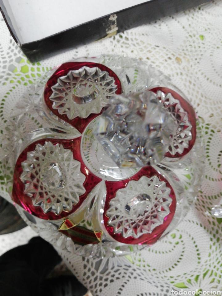 Antigüedades: Impresionante bombonera o caramelera - Foto 8 - 268931494