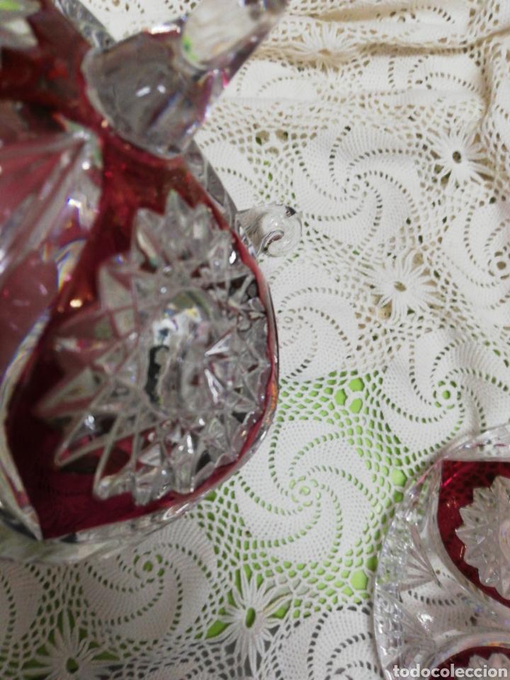 Antigüedades: Impresionante bombonera o caramelera - Foto 11 - 268931494